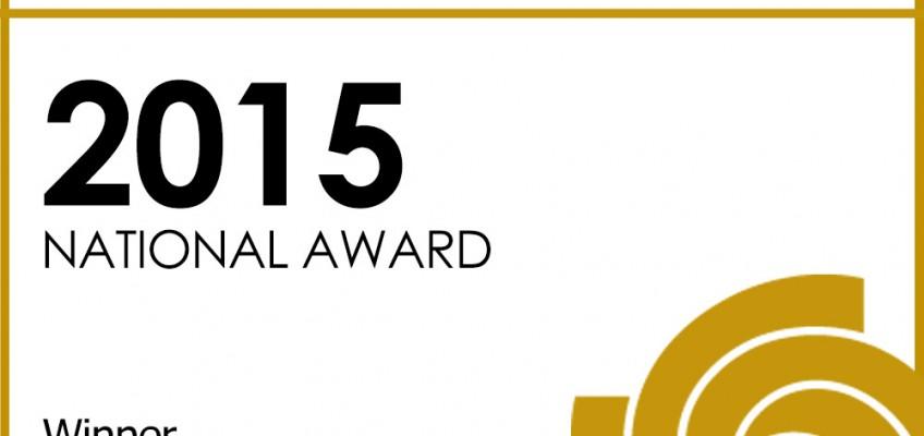 Insignia oficial como ganador nacional en los Sony World Photography Awards