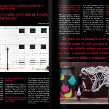 Entrevista en Noir, Revista Cultural.